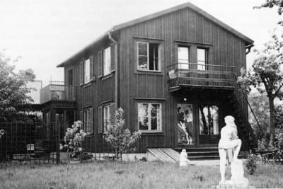 Bild på Bror Hjorths Hus från 1947